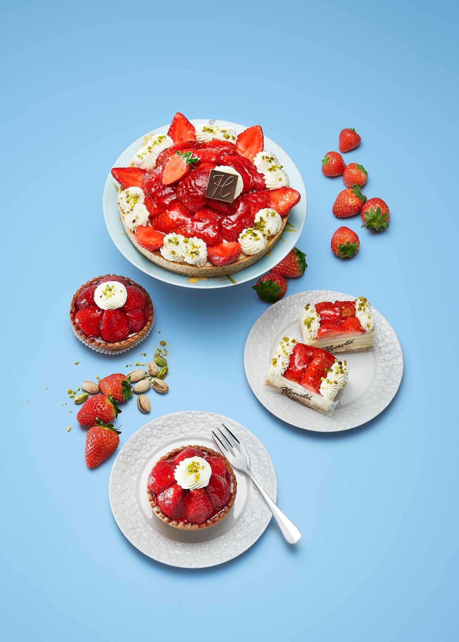 frische Erdbeeren, heute ganz saftig