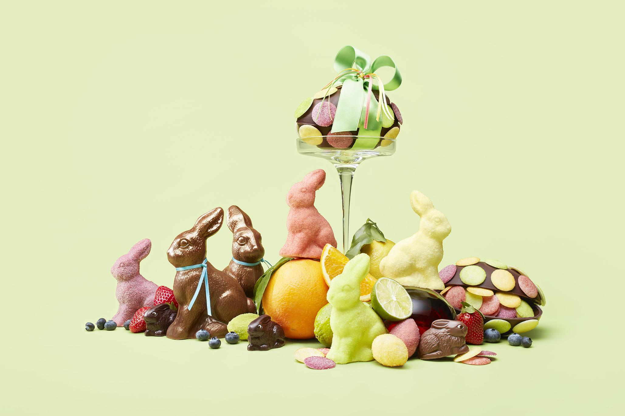 fruchtige Osterhasen und Ostereier von Honold