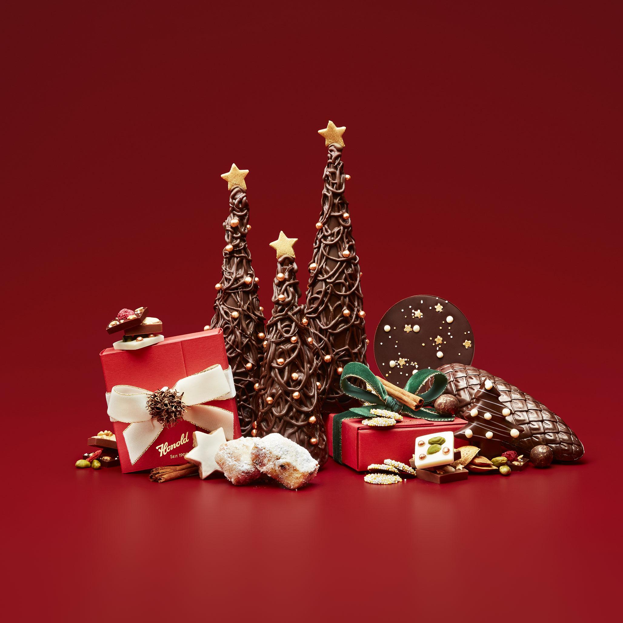Weihnachtsgeschenke aus Schoggi